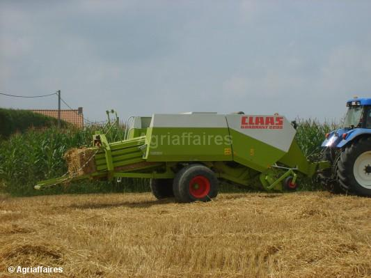 Large square baler